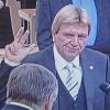 Bouffier als Ministerpräsident einstimmig gewählt