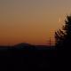 Sonnenuntergang verheißungsvoll