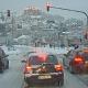 Anhaltender Schneefall und eingeschränkter Busverkehr in Marburg