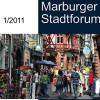 Stadtforum mit Einzelhändlern