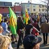 Erneut Protest zahlreicher Demonstranten gegen Atom in Marburg
