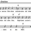 Kinderlieder für Kindergärten als gemeinfreies Liedgut