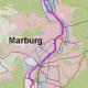 Lahnufer-Magistrale für Marburg im Bau