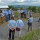 Wildrosen und frühe Kulturrosen als Wegbegleiter hoch über Marburg