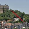 Schrägaufzug hinauf zum Marburger Schloss – eine Idee und Planskizze zur Meinungsbildung