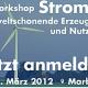 Tagesworkshop 'Strom – umweltschonende Erzeugung und Nutzung' in Marburg