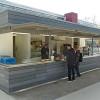 Wirtshaus an der Lahn mit neuem Verkaufspavillon – gelungene Gestaltung von Mensahof