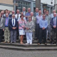 Urgesteine der Städtepartnerschaft Marburg-Northampton zu Besuch