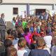 Schulhof der Elisabethschule mit vereinten Kräften umgestaltet