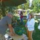 Herbstlicher Pflanzenmarkt im Botanischen Garten mit praller Sommersonne
