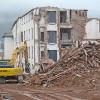 Abbruch des Frauenklinikgebäudes hat begonnen
