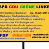 Protestkundgebung gegen AfD-Redner im Verbindungshaus der Rheinfranken am 3. Juni