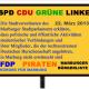 Deutsche Burschenschaft unerwünscht – Marburger Stadtparlament einstimmig  gegen rechtsextreme Burschenschaften
