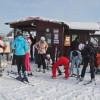 Einen Tag lang Fahren, Rollen, Gleiten – auf der Piste mit Bigfoots und Skiern
