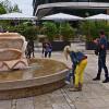 Lahnpromenade und Beachzone in Marburger Nordstadt lädt Besucher zum Verweilen