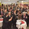 DB-Chef Rüdiger Grube eröffnete das Empfangsgebäude des Bahnhofs Marburg (Lahn)