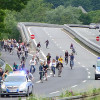 300 Menschen demonstrierten auf der Stadtautobahn – Als rechtens befundene Werbung zur Änderung der Verkehrspolitik in Marburg