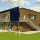 Neubau einer Kindertagesstätte mit Krippe, Hort und Beratungsräumen am Richtberg