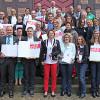 11 Landessieger der Innenstadt-Offensive 'Ab in die Mitte!' 2014 – Umweltministerin Hinz überreichte 161.700 Euro Preisgelder