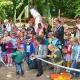 Dschungelpfad für die Kindertagesstätte 'Unter dem Gedankenspiel'