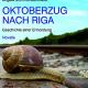 Angela Schmidt-Bernhardt präsentiert 'Oktoberzug nach Riga'