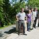 Lingelgasse mit blindengerechter Zuwegung zum Uferweg an den Lahnterrassen