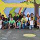 Wandgestaltung durch Kindereinrichtungen am Richtsberg