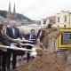 Zwei Minister beim Spatenstich für die neue UniBibliothek in Marburg
