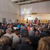 Richtfest für Umbau des Erwin-Piscator-Hauses