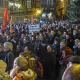 Fotografische Impressionen von der Antigida-Demonstration am 5. Januar in Marburg