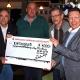 1000 Euro-Spende vom Schwarzen Pokal 2015 an Fischereiverein Marburg und Umgebung