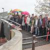 Fußgängersteg am oberen Richtsberg heißt jetzt Regenbogenbrücke