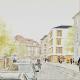 Grundsteinlegung für 60 Studierenden-Appartements in der Gutenbergstraße