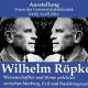 Ausstellung in der UB: Gedenken an Marburger Ökonomen Wilhelm Röpke
