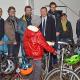 Radsportverein spendet 15 Fahrräder für Flüchtlinge in Cappel