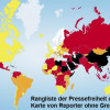 Fotoband von Reporter ohne Grenzen zum Welttag der Pressefreiheit am 3. Mai