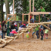Kletterdschungel im Spielplatz am Portal Gisselberg für Kinder eröffnet