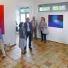 Kunstforum Mainturm – 'Farbstaub und Magenta' von Christine Dahrendorf