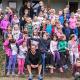 56 Erst- bis Viertklässler aus Amönau rannten für MS-Betroffene
