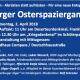 Aufruf zum Osterspaziergang in Marburg