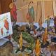 Auf dem Marburger Marktplatz: Osterhasen demonstrieren für Menschenrechte