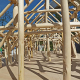 Mit dem Baustoff Holz statt Zement und Stahl – Gebäude können zu einer globalen CO2-Senke werden