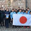 Blindenfußball-Nationalmannschaft aus Japan zu Gast in Marburg