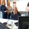 Arbeitsplatz für Schwerhörige im Cineplex Marburg