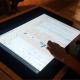 Visualisierung der Handbibliothek Fontanes ausgestellt und ausgezeichnet