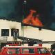Großbrand im Marburger Squash-Center vor 25 Jahren: Trotz Schutzkleidung schwere Verbrennungen für Einsatzkräfte