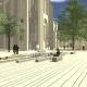 Umfeld der Elisabethkirche: Firmaneiplatz bekommt Brunnen und Sitzmöglichkeiten