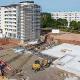 Fundamentplatte für Altenhilfezentrum St. Jakob am Richtsberg ist gegossen