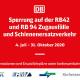 Kurhessenbahn: Zugausfälle und Schienenersatzverkehr wegen des Baus neuer elektronischer Stellwerke