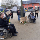 Mahnwache des Landesbehindertenrates Hessen für die in Potsdam 4 getöteten Menschen mit Behinderung